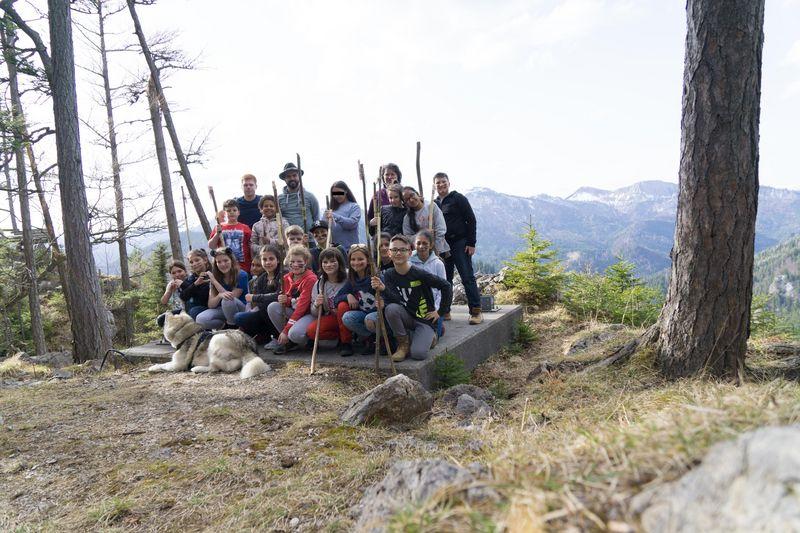 Projektwoche in Mürzsteg (Steiermark)