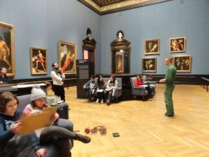 Zeichenworkshop im Kunsthistorischen Museum