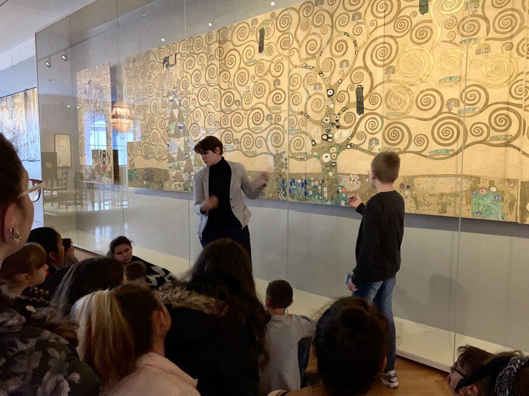 Spallartgasse bei Gustav Klimt