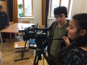 Videoworkshop in der 4b