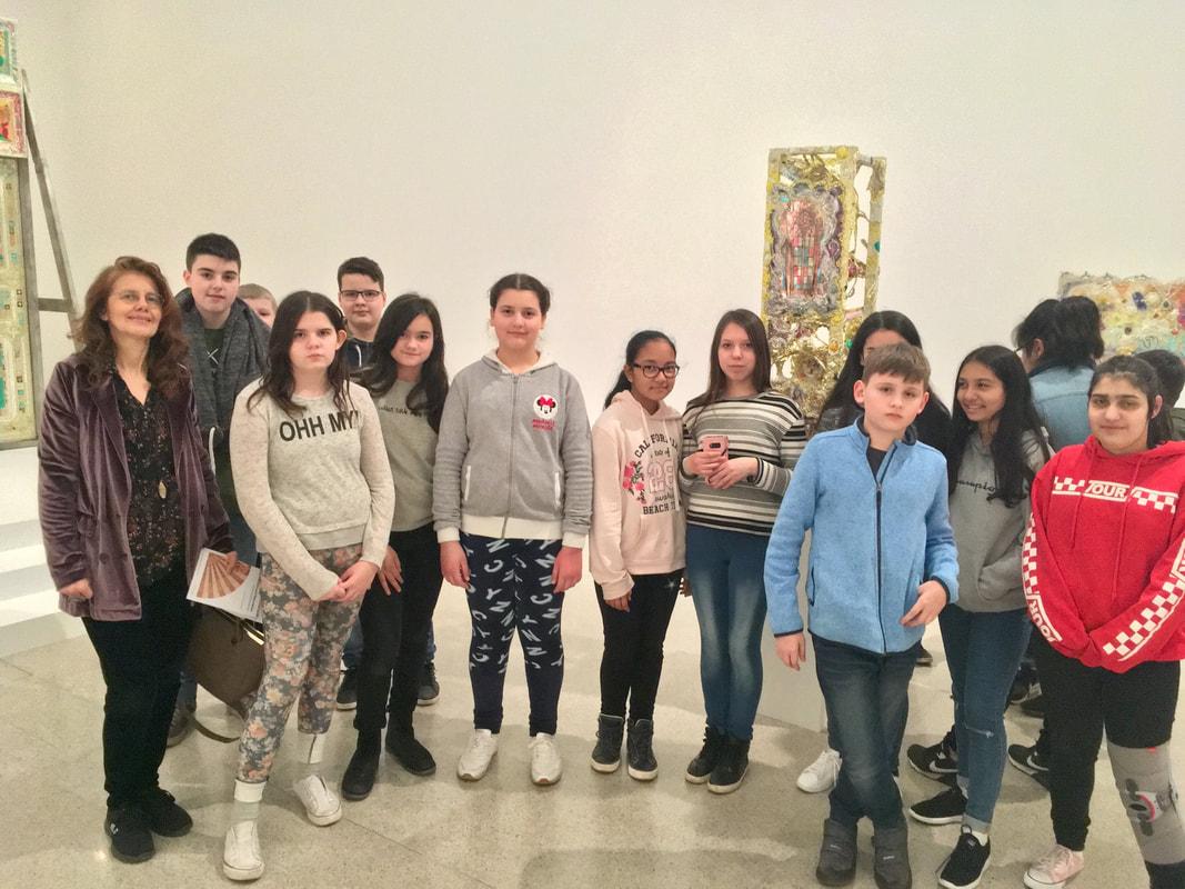 Besuch des MUMOK – Museum Moderner Kunst
