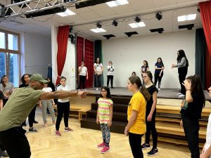 MKÜ-Musical: Tanz- und Choreographie-Workshop